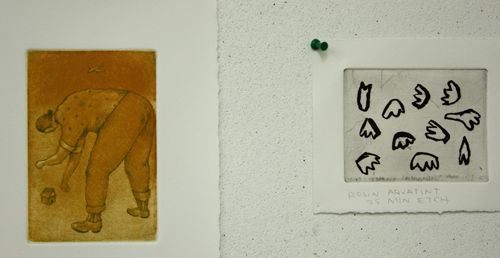 Glimpses of Diana Behl's Work and SDSU Printmaking « PRINTERESTING