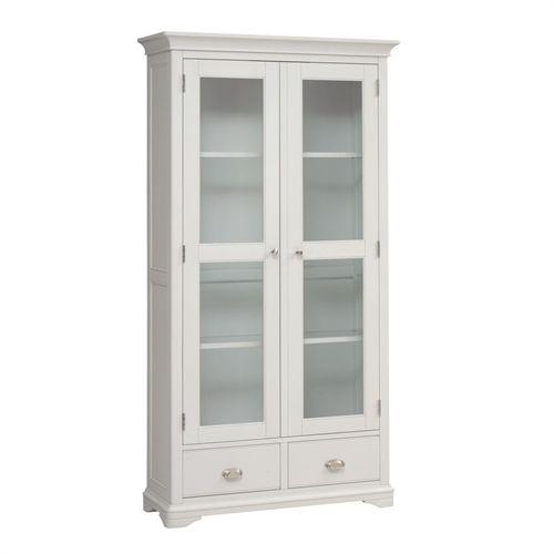 Boston Light Grey 2 Door Display Unit