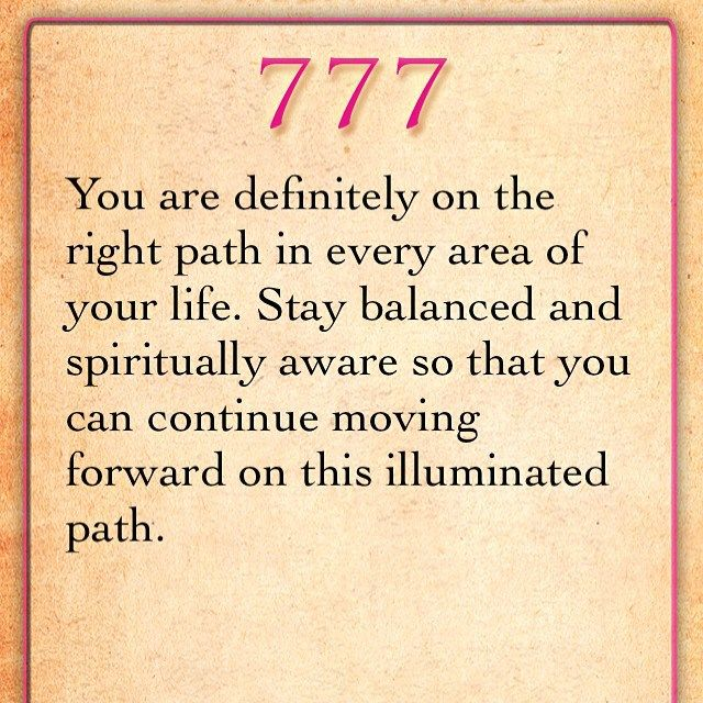 777 all the time right now! #rightpath #sogood #angels