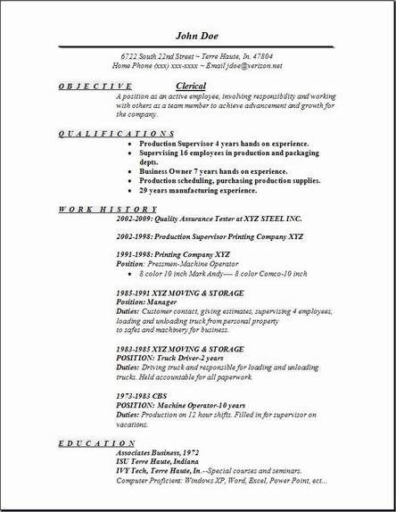 Warehouse Resume Skills Free - http\/\/wwwresumecareerinfo - warehouse jobs resume