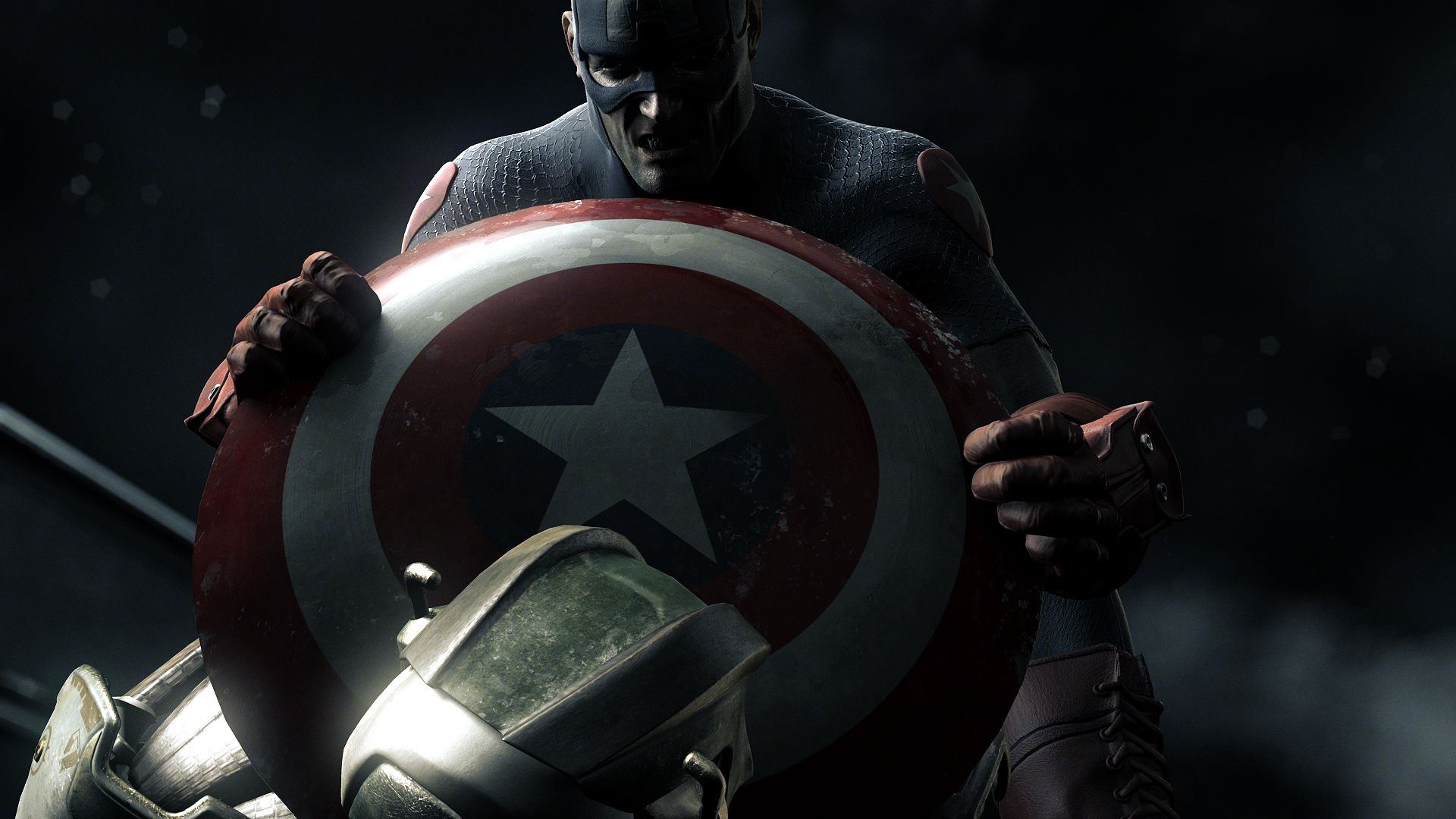 Captain America Shield Marvel Comics Hd Wallpapers