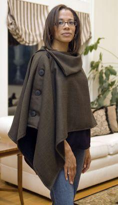 Como hacer moldes de abrigos para mujer