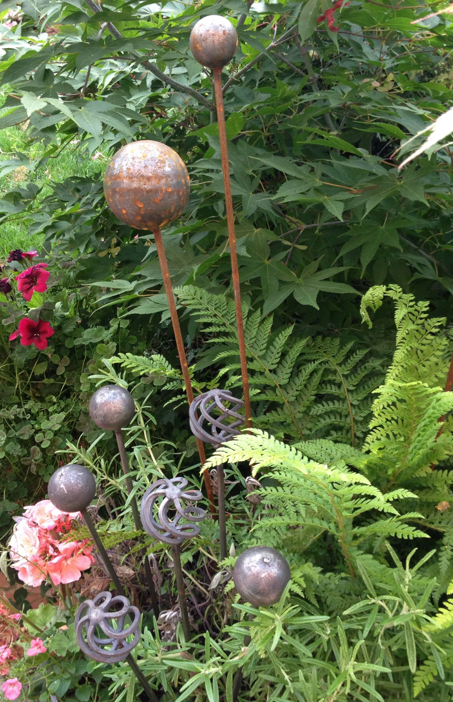 Metal Art Plant Supports - Home   Metal   Pinterest   Plants ...