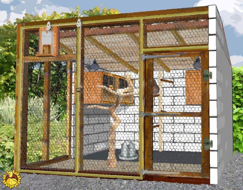Construire Un Pigeonnier Plan Pigeonnier Plan Poulailler Construire