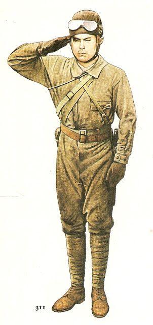 Esercito Imperiale Nipponico - Carrista 1941