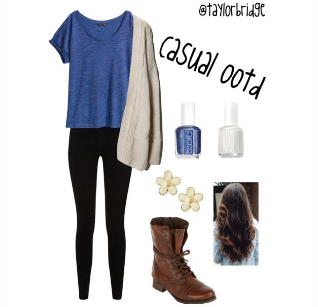 Cute School Outfit | FASHION INSPIRATION | School outfits ...