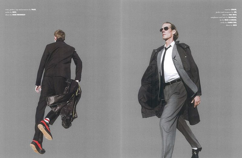 shot by Alessio Bolzoni and styled by Anna Pesonen