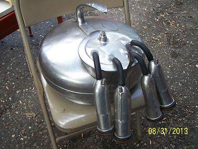 Vintage Surge Milker Stainless Steel Milk Bucket Pail
