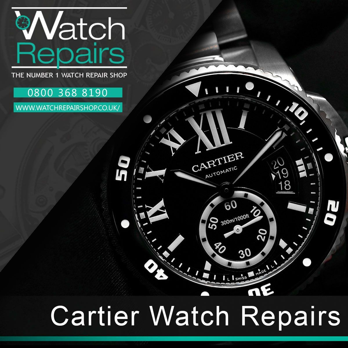 offers Cartier watch repair services