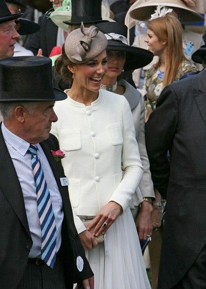 Catherine, Duchess of Cambridge attends the 2011 Epsom Derby at Epsom Downs Racecourse, June 4, 2011.
