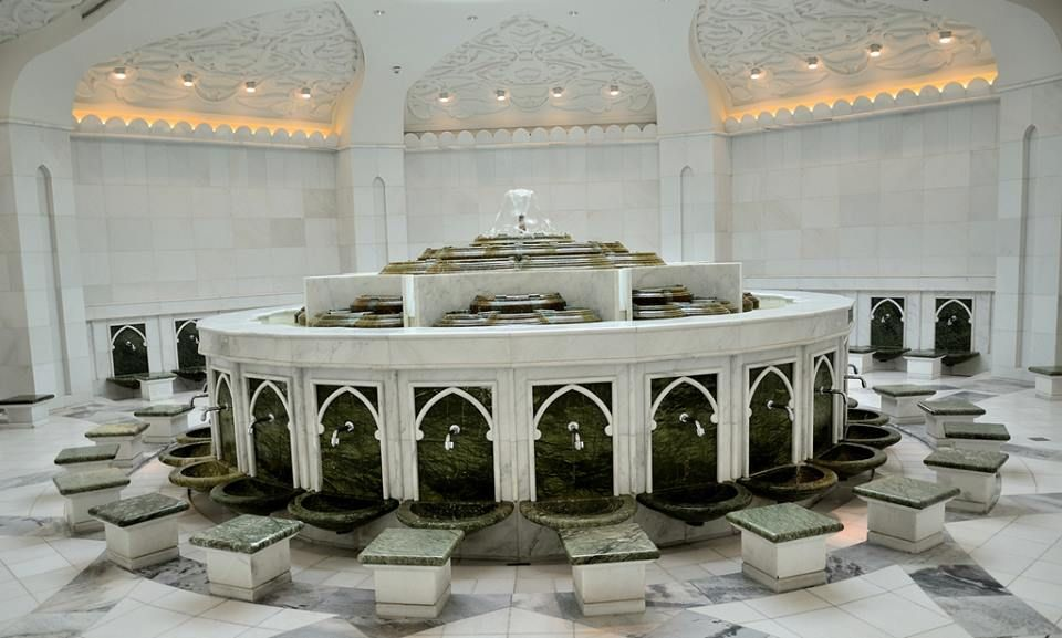 Ablution Room in The Grand Sheikh Zayed Mosque, Abu Dhabi