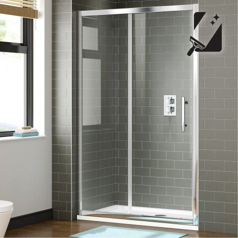1100mm 8mm Premium Easyclean Sliding Shower Door Shower Doors Sliding Shower Door Frameless Sliding Shower Doors