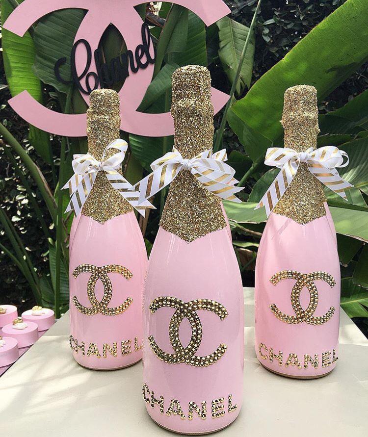 Classy 21st Birthday 23rd Treats Shots Chanel Party