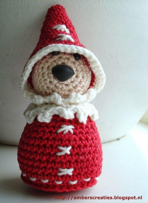 Ambers Creaties Kerstman Amigurumi Holidays Pinterest