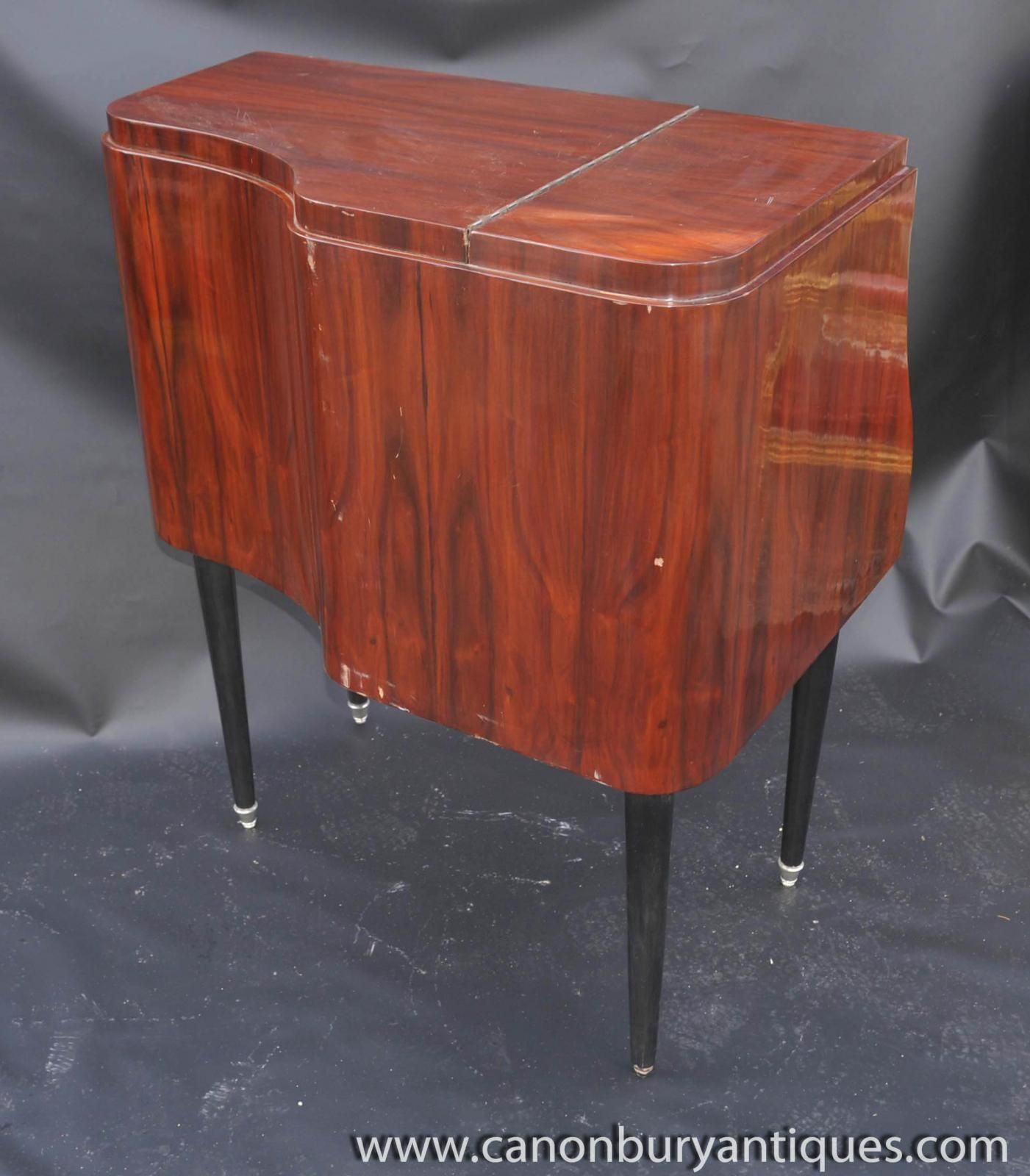 of Art Deco Drinks Cabinet Cocktail Chest 1920s Furniture