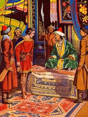 kublai khan and marco polo relationship advice
