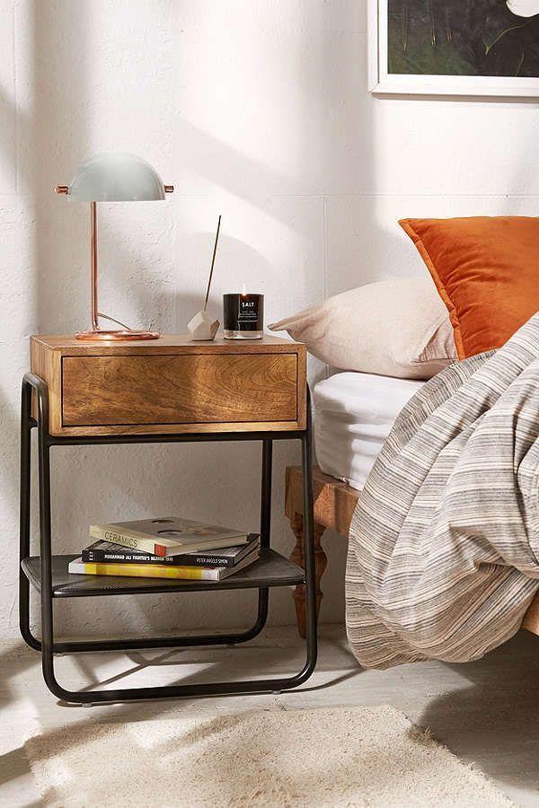 Urban Outfitters Bainbridge Nightstand Scandinavian Design