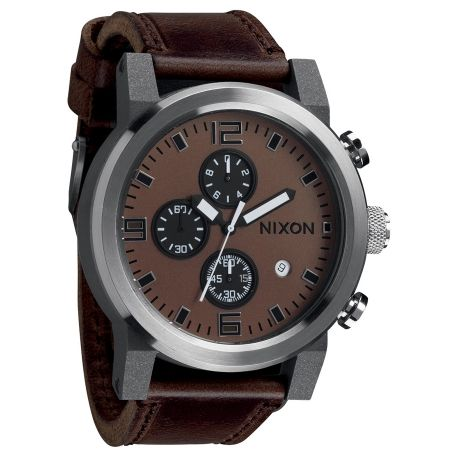 For my man. Ride Watch – Brown Black from Noteworthy Nixons - R2,699 (Save 46%)