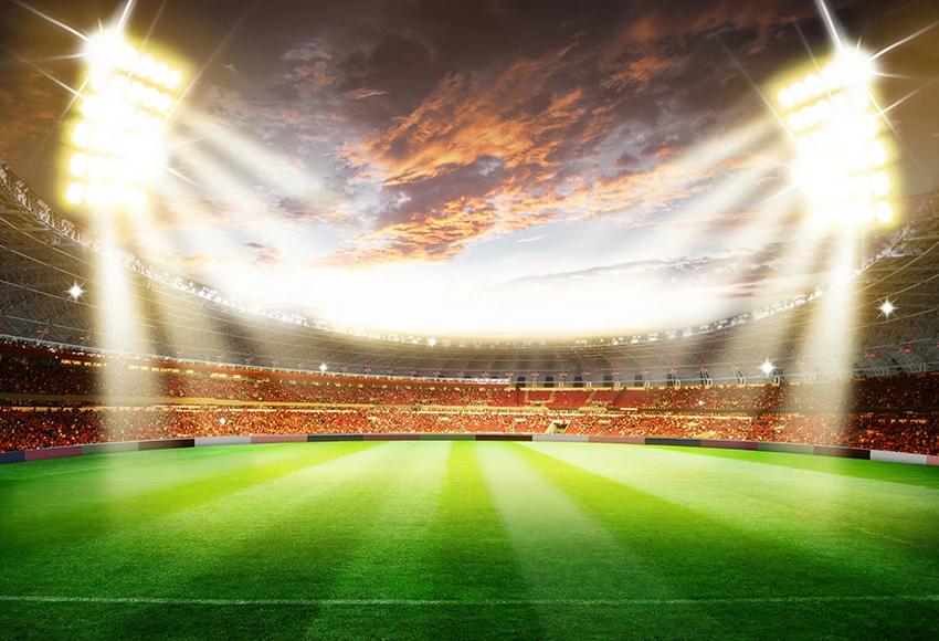 Football Stadium Soccer Photography Backdrop M026 Soccer Photography Football Stadiums Stadium