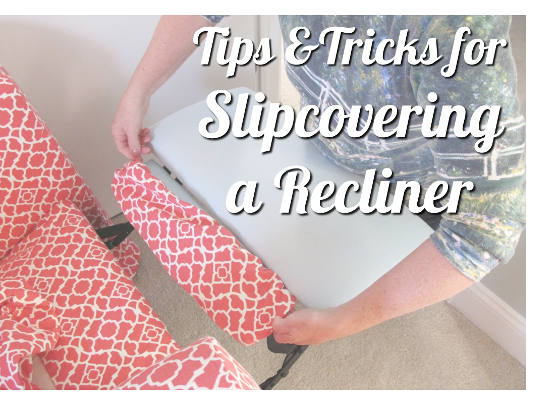 BonnieProjects Tips u0026 Tricks for Slipcovering a Recliner  sc 1 st  Pinterest & BonnieProjects: Tips u0026 Tricks for Slipcovering a Recliner | My ... islam-shia.org
