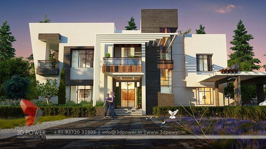 Luxury Bungalow House Plans India Beautiful house Pinterest