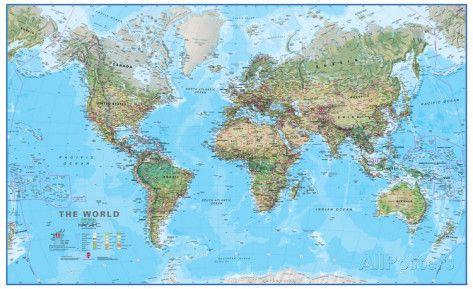 Cartina Mondo Immagini.8 Idee Su Mappe Del Mondo Mappe Mappa Del Mondo Poster Gigante
