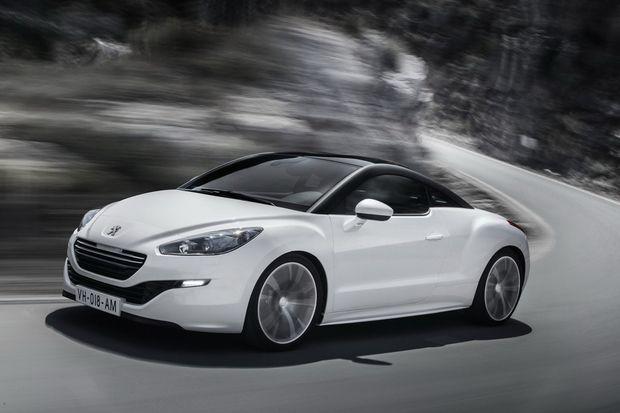 Peugeot Reveals New RCZ and RCZ R