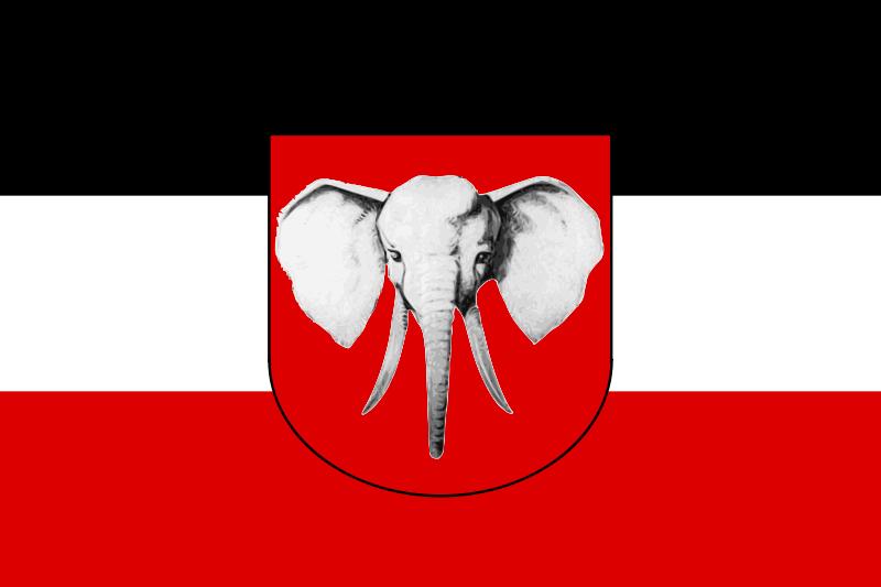 Flag Of Deutsch Kamerun This Day In History Feb 28 1916 German Cameroons Surrenders To Allied Forces Http Dingeengoete Blo Colonial Flag Flag German Flag