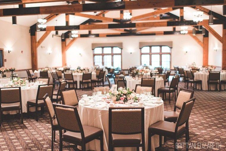 Pink Table Blush Wedding Reception Setup Pine Barn Inn Bridesmaids
