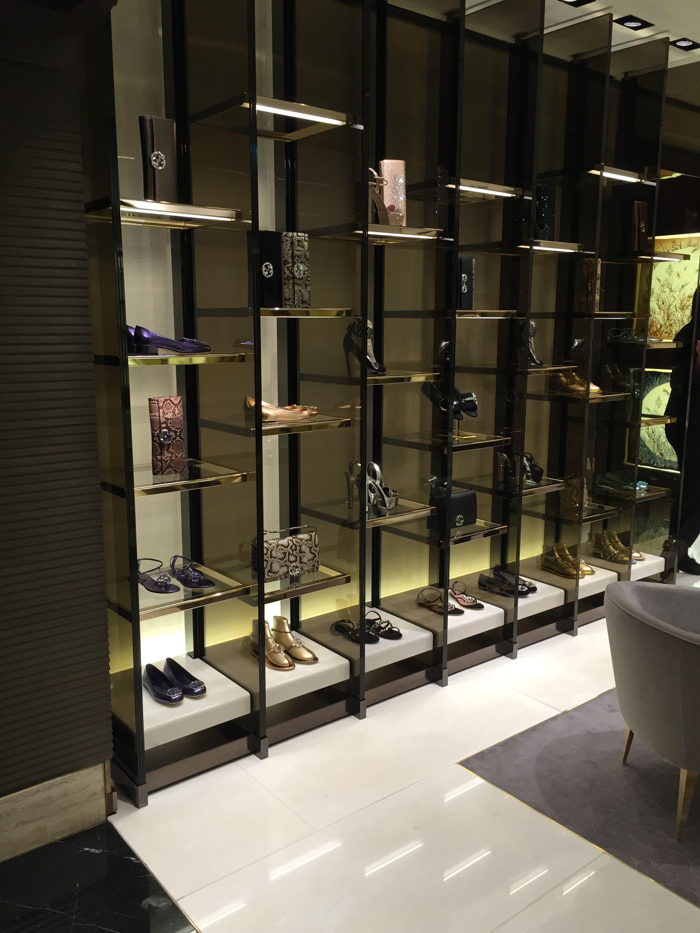 01490df49 Lovely Gucci display in Harrods Shoe Heaven! #Harrods #shopping #retail  #luxury