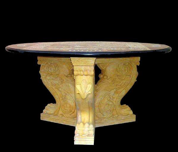 Base per tavoli tris art.14 - Le Pietre srl   Basi per tavoli ...