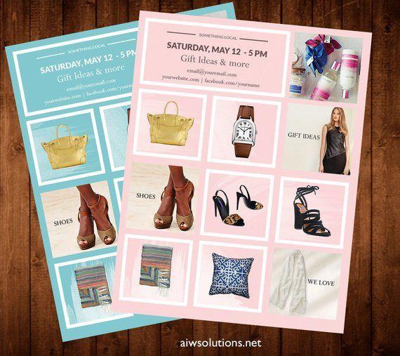 Product Showcase, Wholesale Line Sheet Template, Line