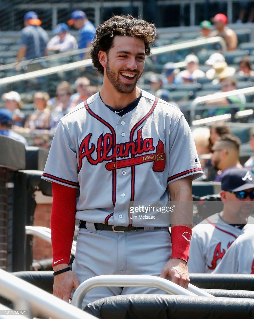 Dansby Swanson Of The Atlanta Braves In Action Against The New York Dansby Swanson Atlanta Braves Atlanta Braves Wallpaper