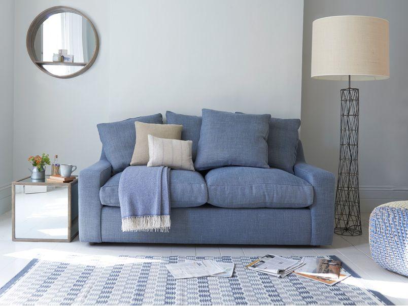Cloud sofa bed in a bespoke fabric   Comfy sofa bed, Sofa ...