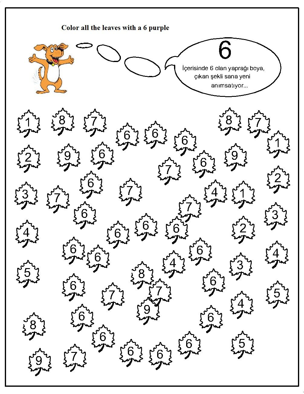 number hunt worksheet for kids (14) | Crafts and Worksheets for ...