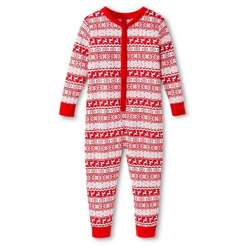 Target 12.99 Toddler 1-Piece Holiday Fairisle Union Suit Red ...