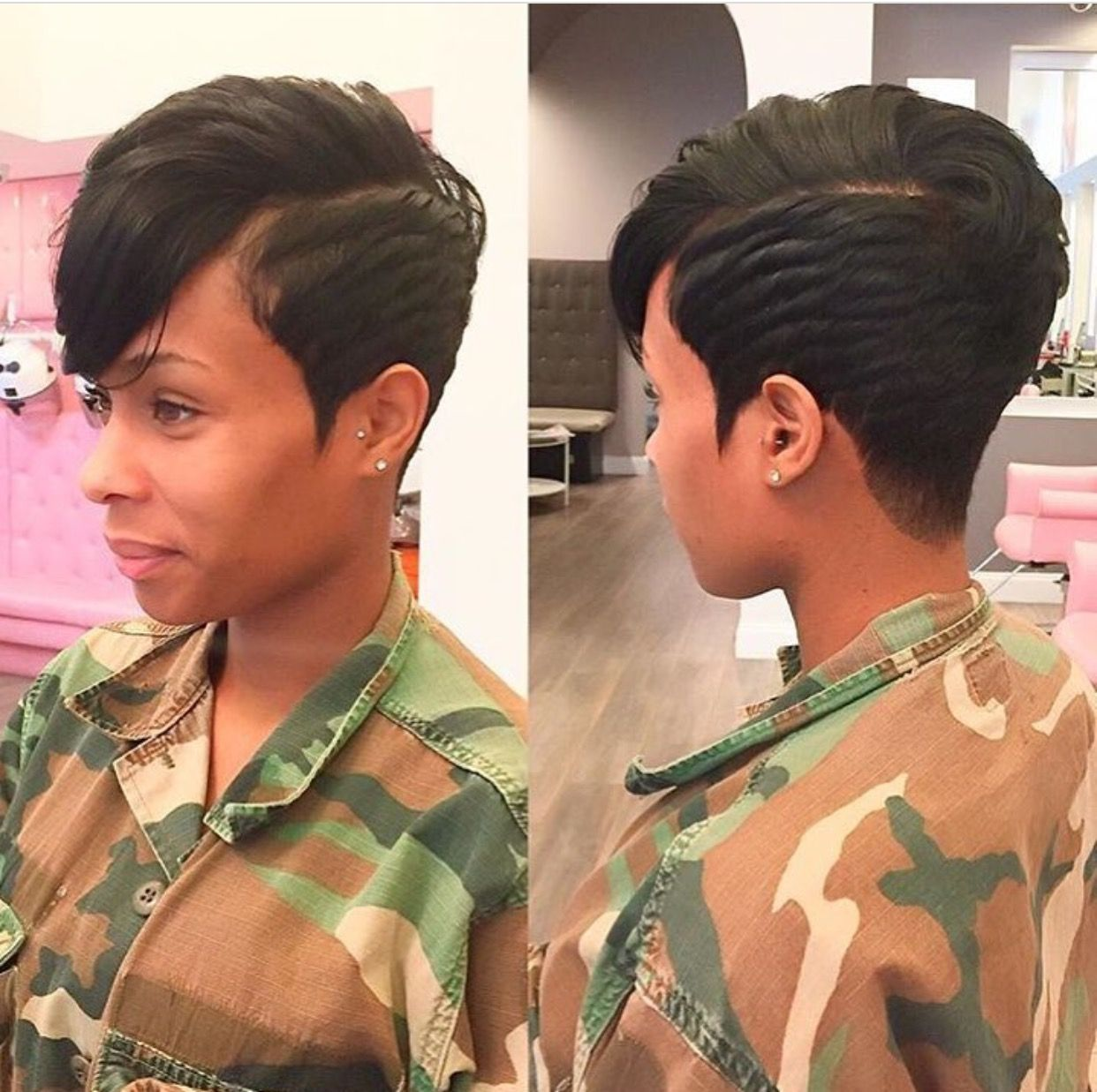 Short Hairstyles Black Hair New ✨ Go Follow Blackgirlsvault For More Celebration Of Black Beauty
