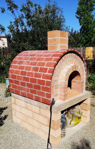 DIY Brick Pizza Oven | Wooden playhouse, Diy shed, Diy ...