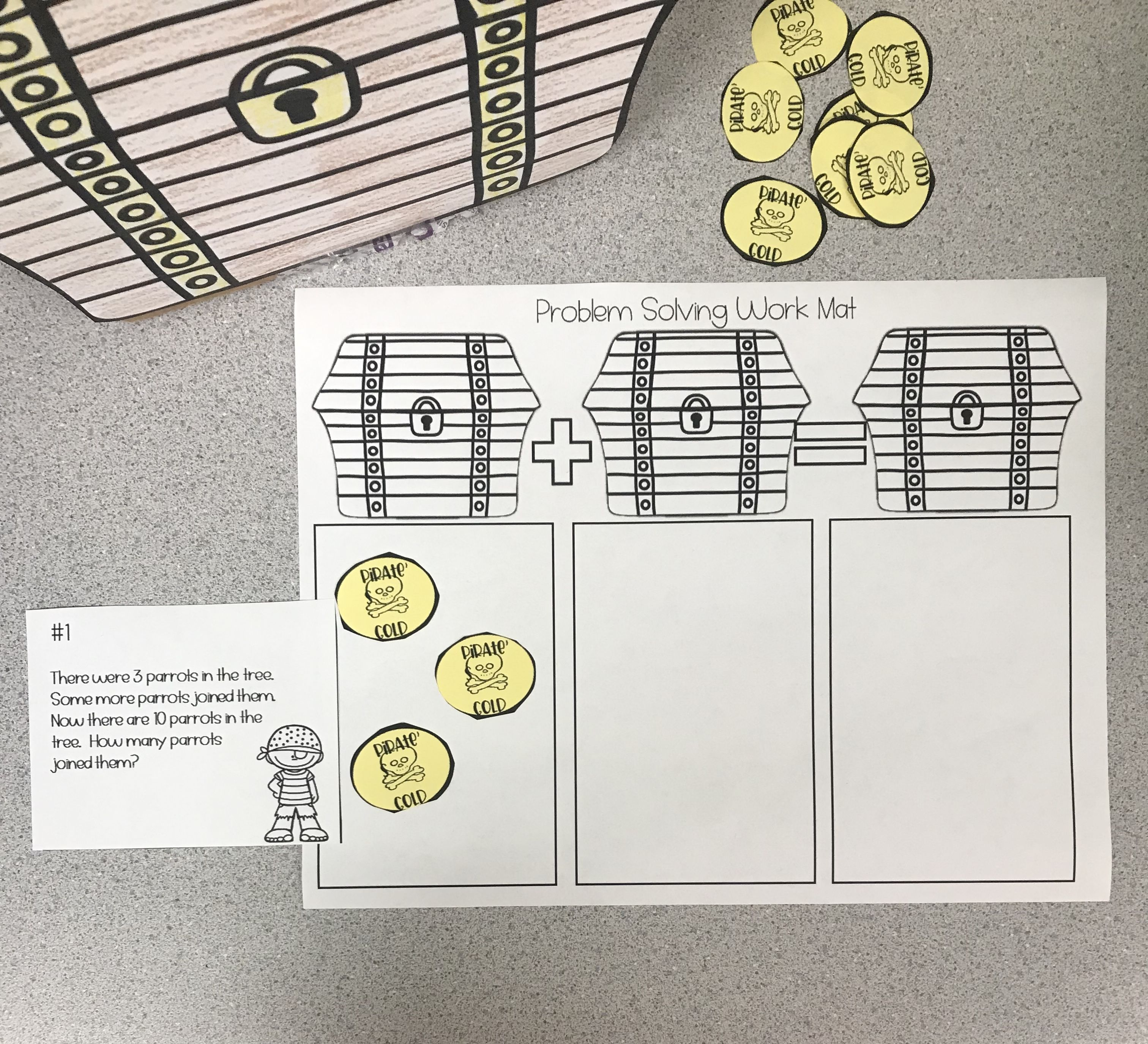 An Engaging Pirate Themed Challenge And Activity For