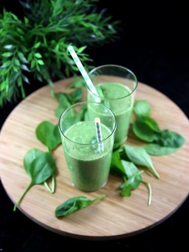 smoothie vert sans sucre)