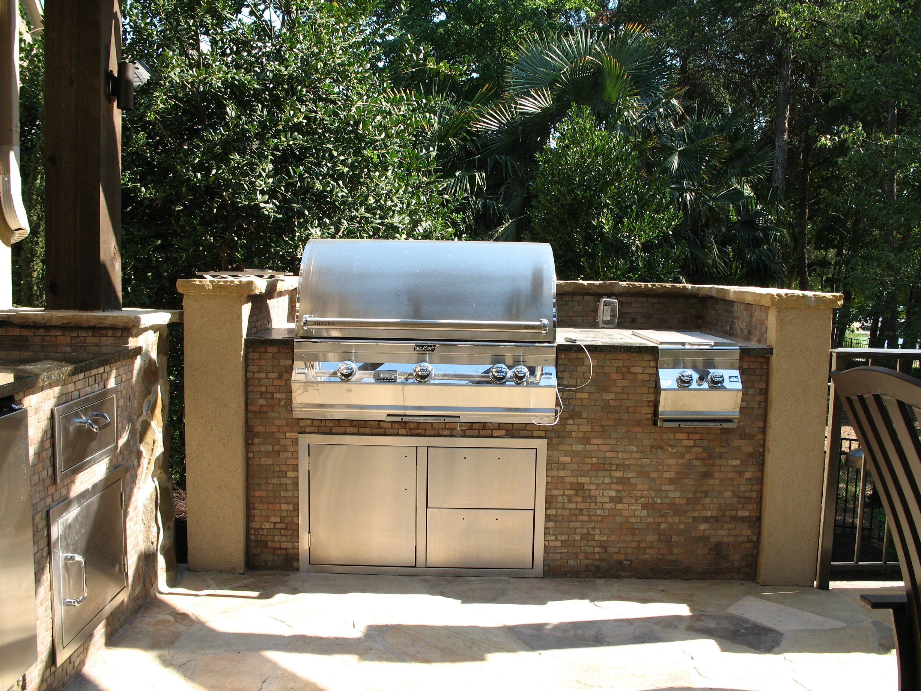 Outdoor kitchen grill find grill outdoor cooking is very for Outdoor kitchen without grill