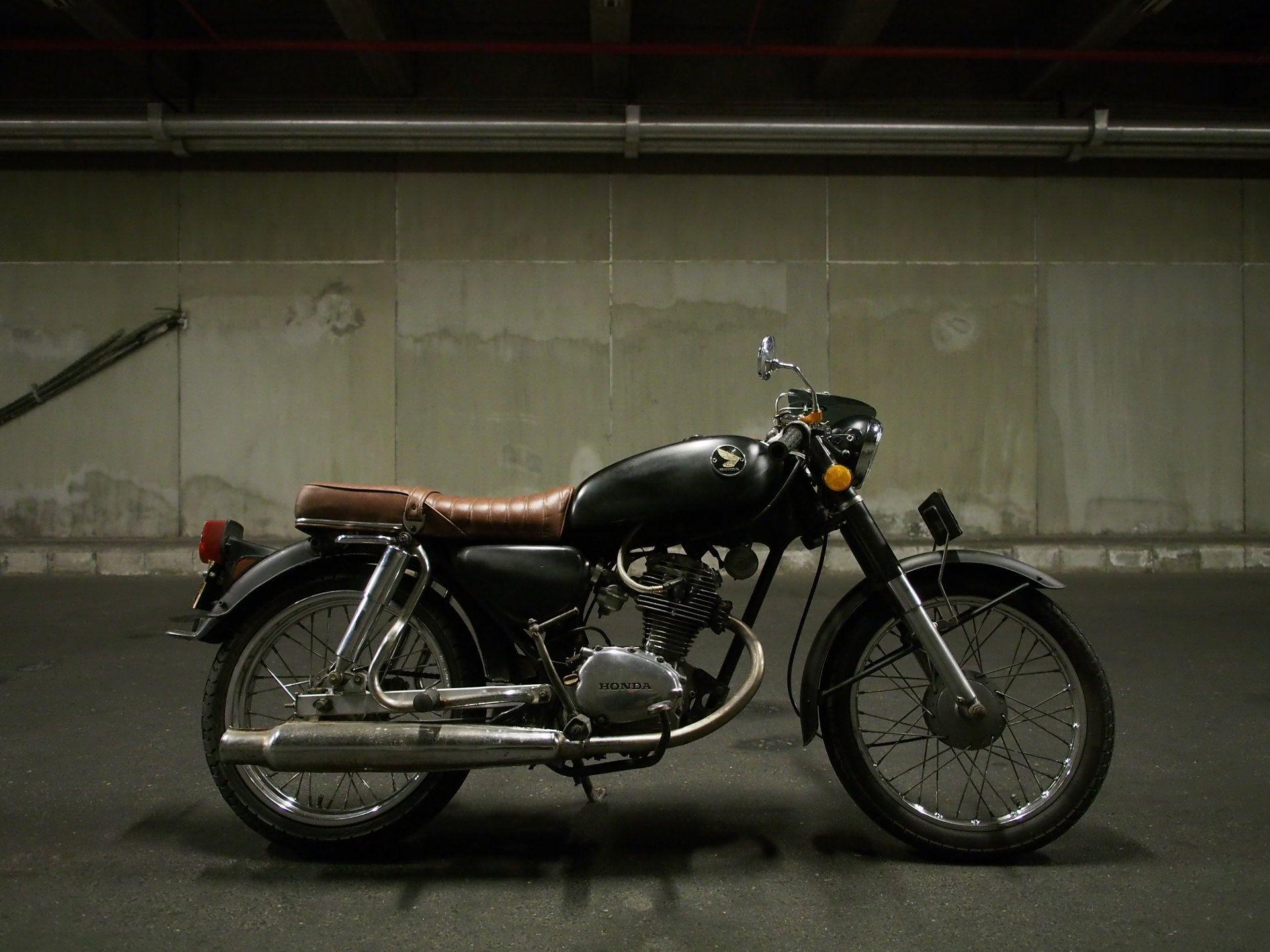 cb100 classic cafe racer | honda cb100 custom | pinterest | honda