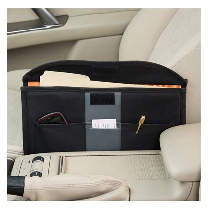 Turn Your Car Into A Mobile Office. This Convenient Organizer Holds  Everything You Need For