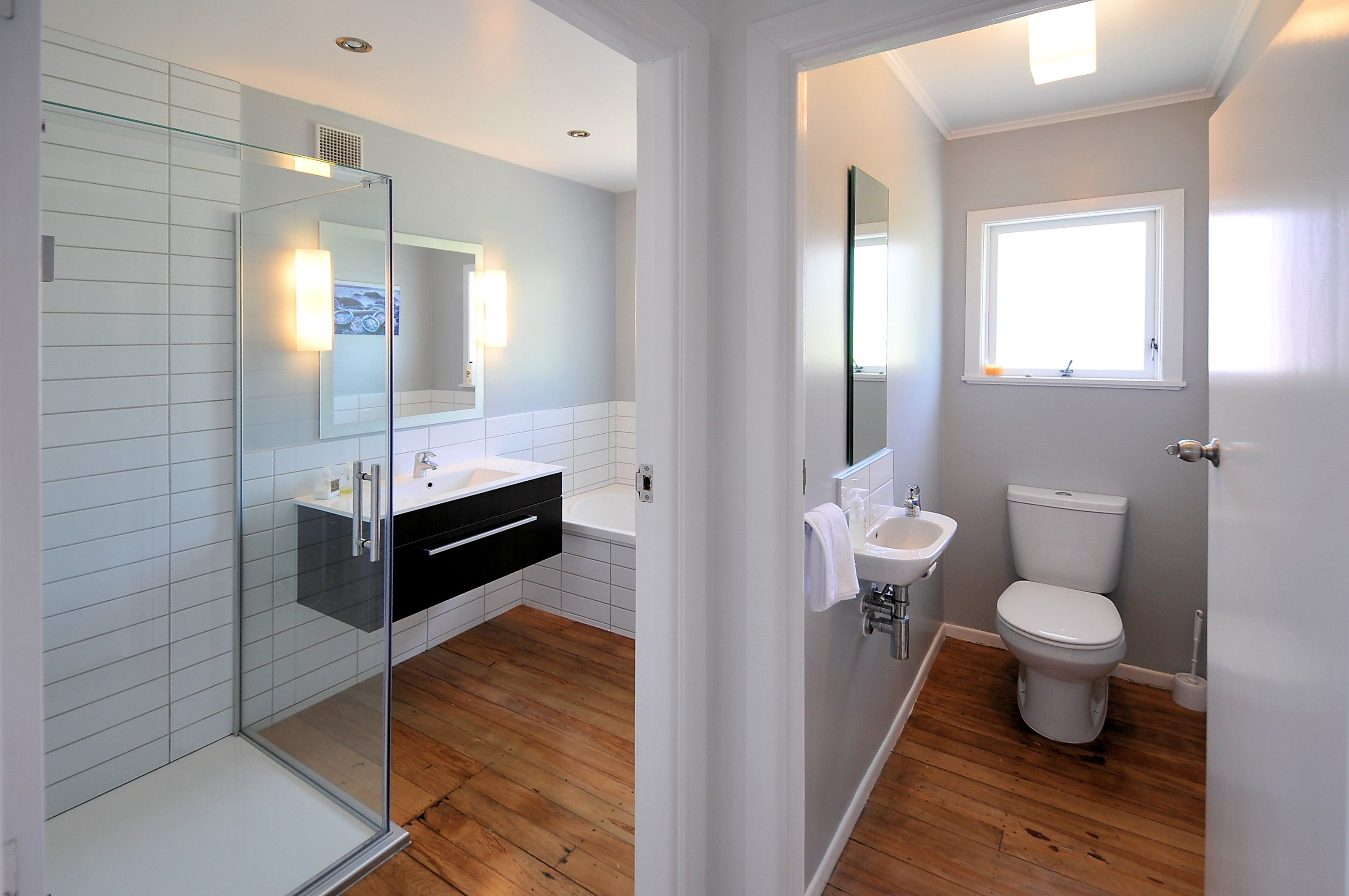 White Bathrooms Nz bathroom renovations on a budget beulah ave bathroom