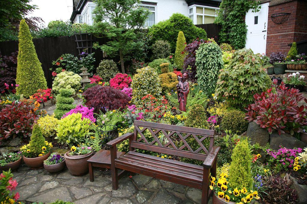Upper Garden Spring English Garden Design Garden Design Garden