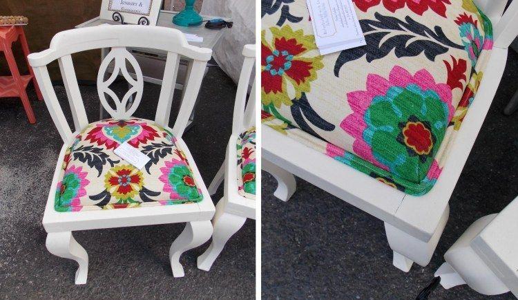 Stühle Streichen alter stuhl streichen und das polster austauschen diy