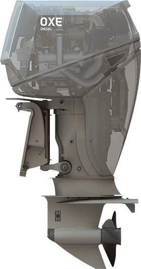 Diesel Outboard Motor : Oxe hp diesel outboard engine — january news