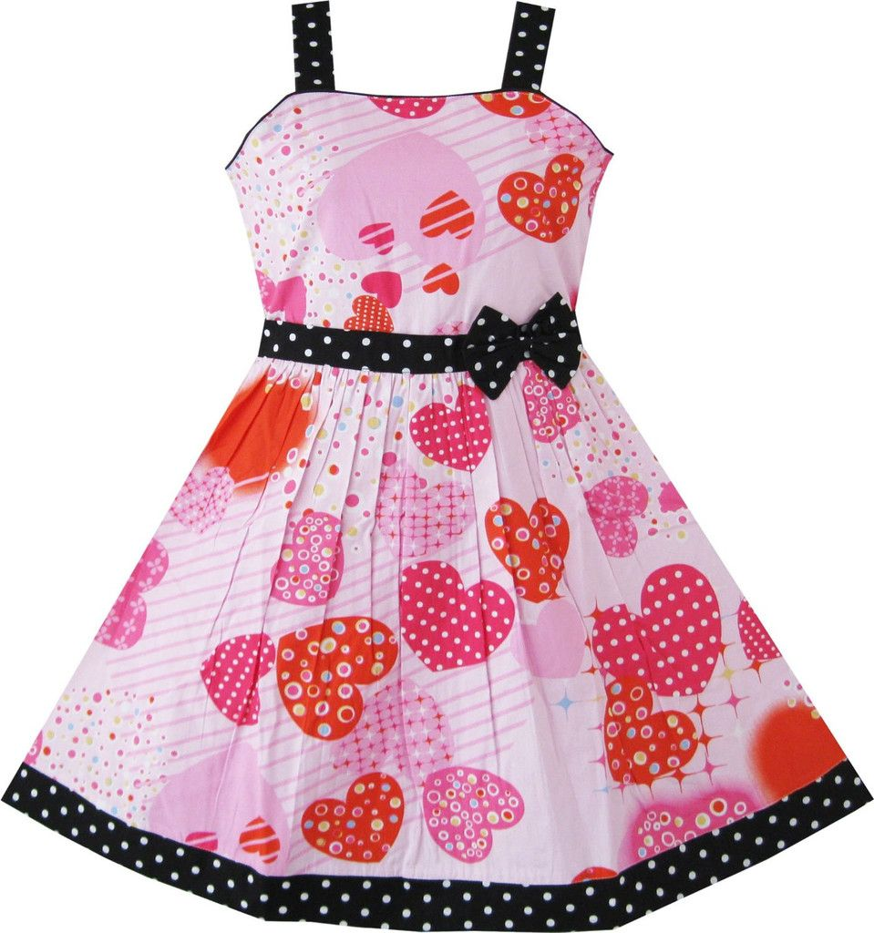 Girls Illusion Checkered Organza Dress Owl Squirrel Print Cute Party Size 2-6