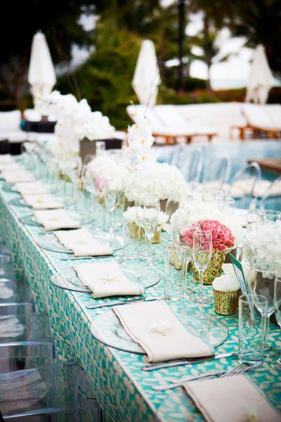 Decoración de mesas de la celebración de tu boda 2017: 25 estilos para sorprender Image: 3