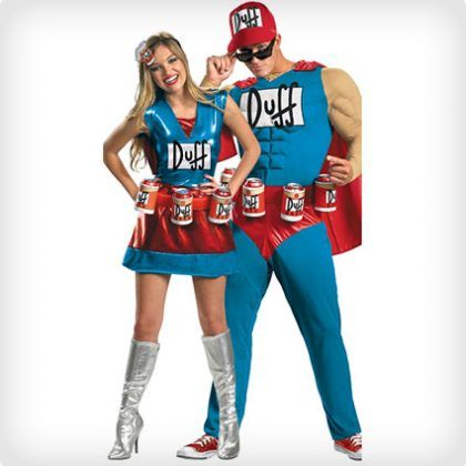 102 Best Halloween Couples Costumes of All Time (50+ DIY Ideas - best couple halloween costume ideas